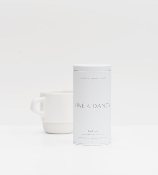 Fine & Dandy | Tea Tin | Fair Trade Organic Earl Grey Tea