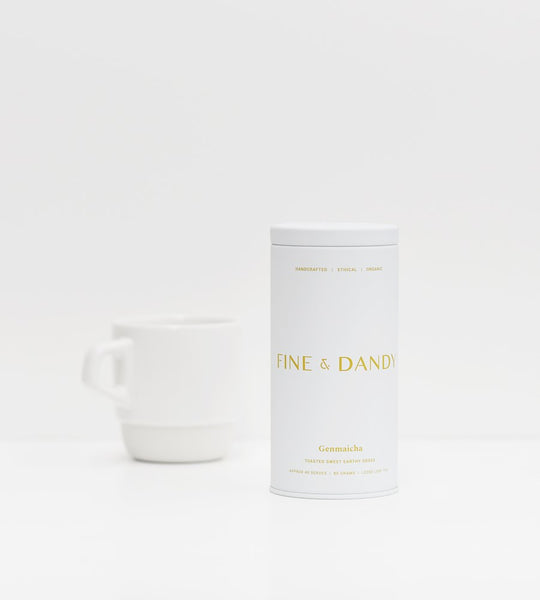 Fine & Dandy | Tea Tin | Organic Genmaicha Tea