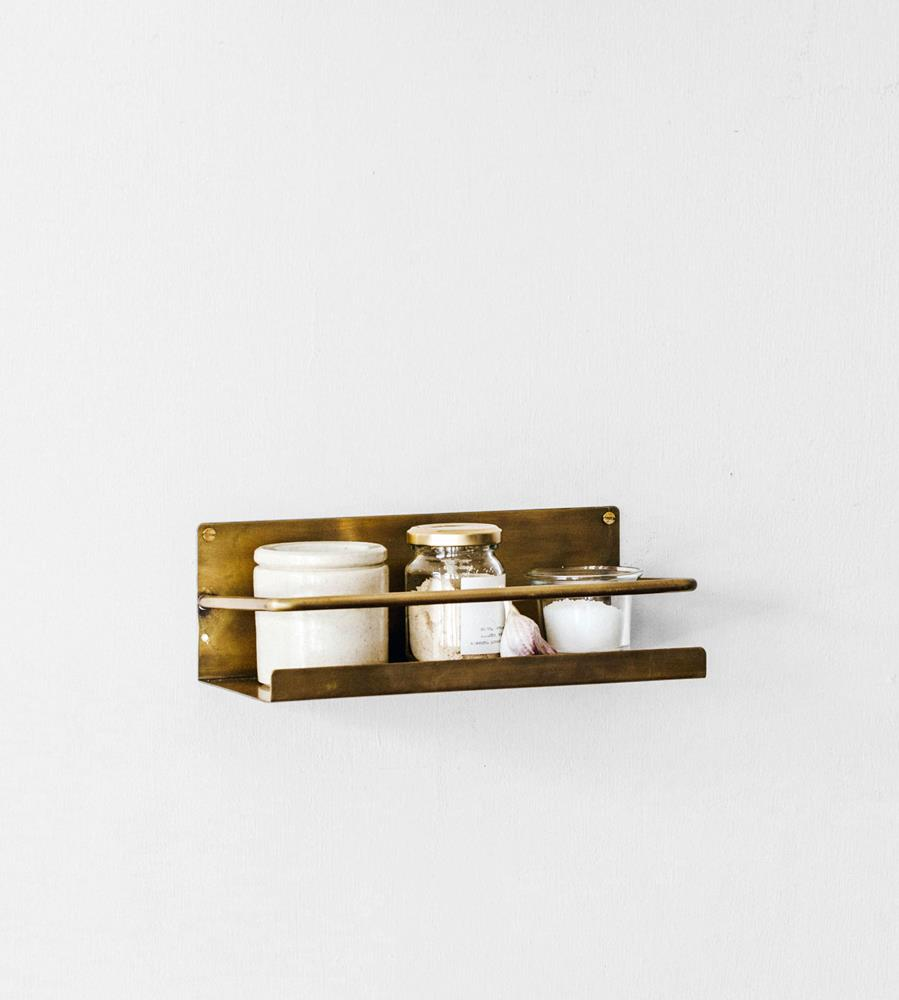 Fog Linen | Brass | Shelf