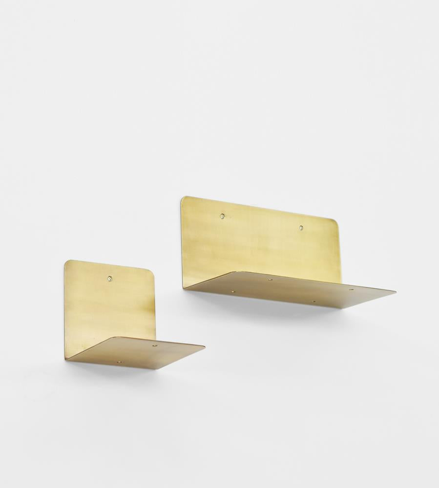 Fog Linen | Brass | Stand Shelf