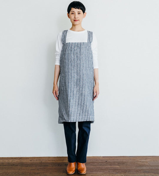 Fog Linen | Square Cross Apron | Jack