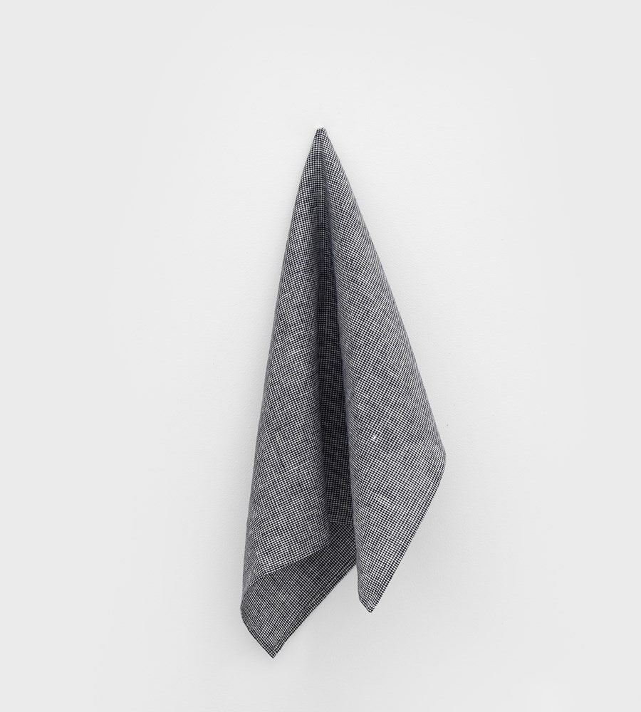 Fog Linen Tea Towel | Mia