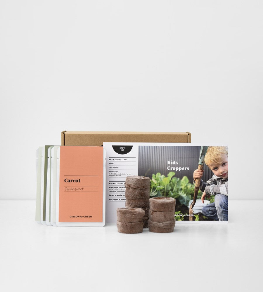 Gibson & Green | Kids Croppers Grow Kit