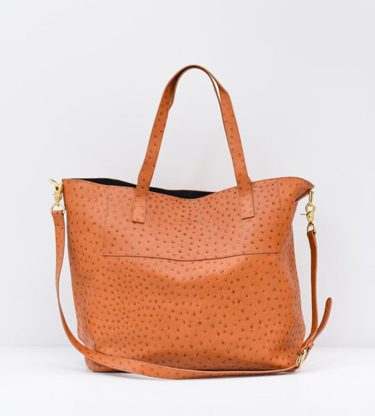 Harry & Co. | Always Bag | Tan Ostrich