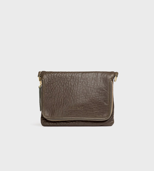 Harry & Co. | Bobi Bag | Bubble Leather | Khaki