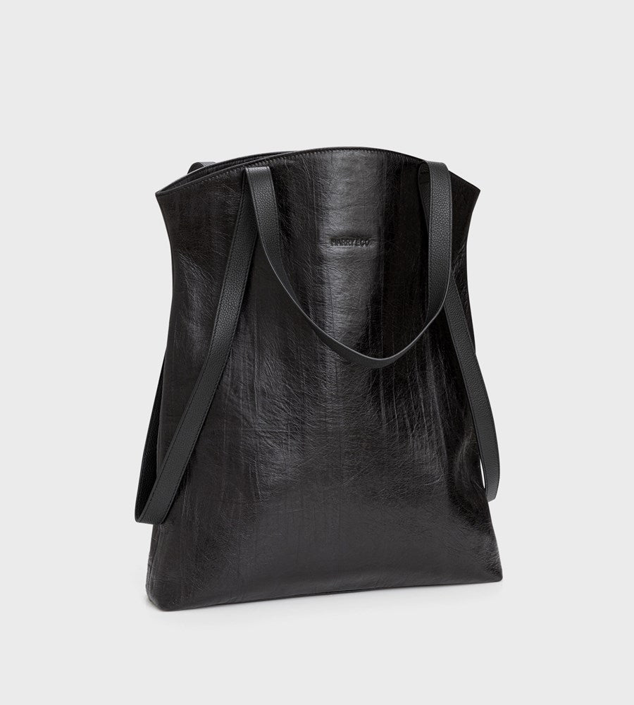 Harry & Co. | Billy Bag | Black Crackle Leather