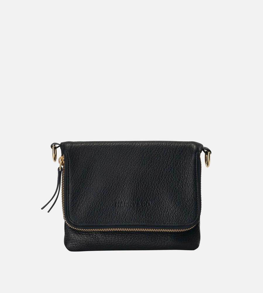 Harry & Co. | Bobi Bag | Black | Leather Strap