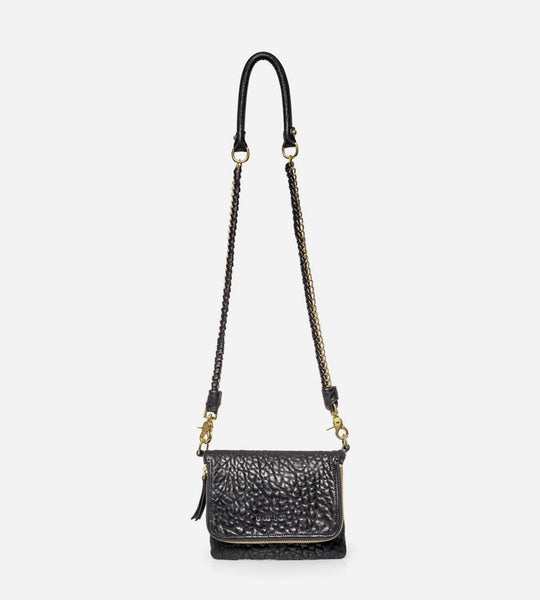 Harry & Co. | Bobi Bag | Bubble Leather | Black