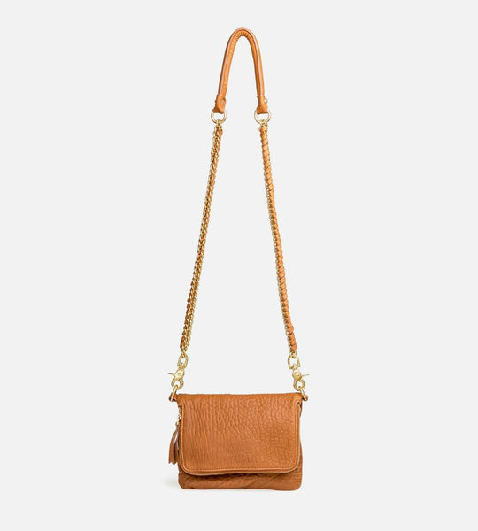 Harry & Co. | Bobi Bag | Bubble Leather | Tan