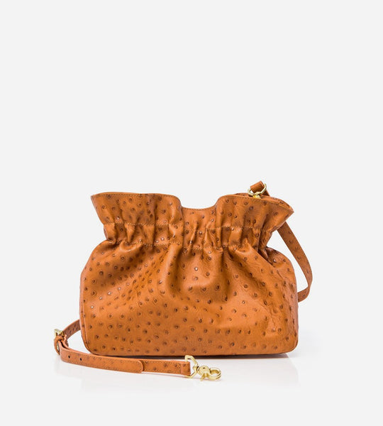 Harry & Co. | Eva Bag | Ostrich Tan