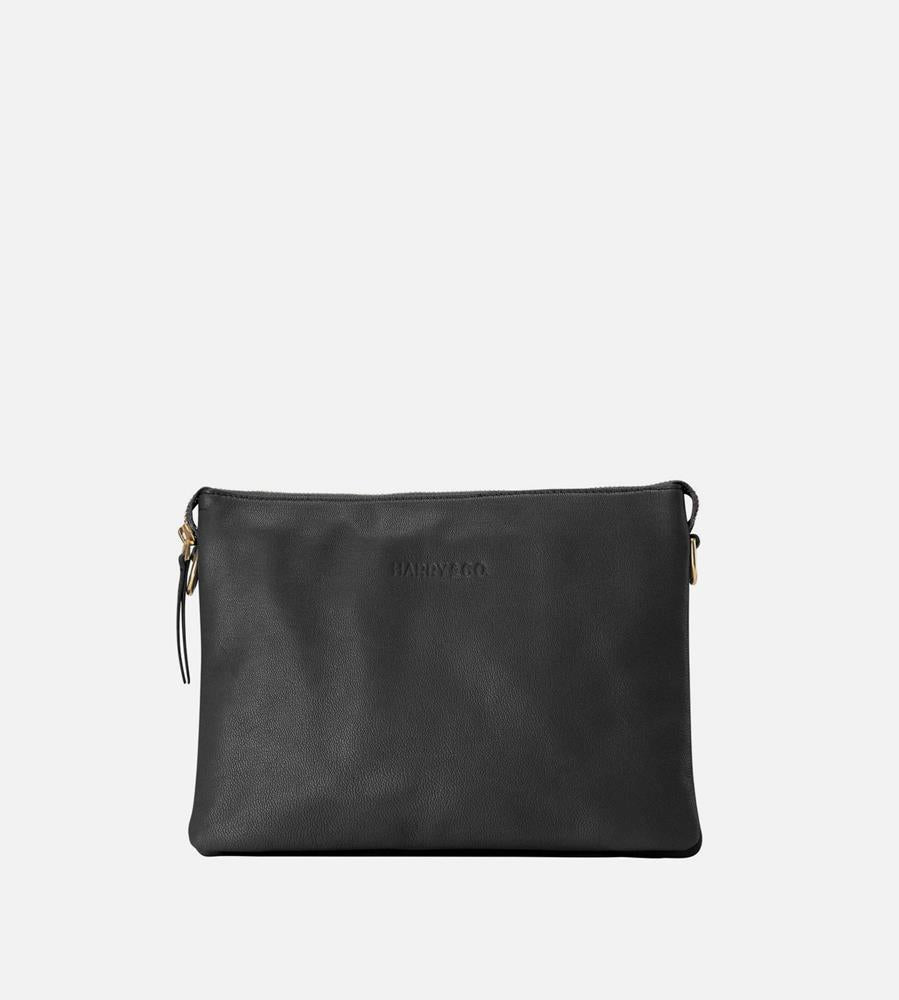 Harry & Co. | Everywhere Bag | Black | Leather Strap