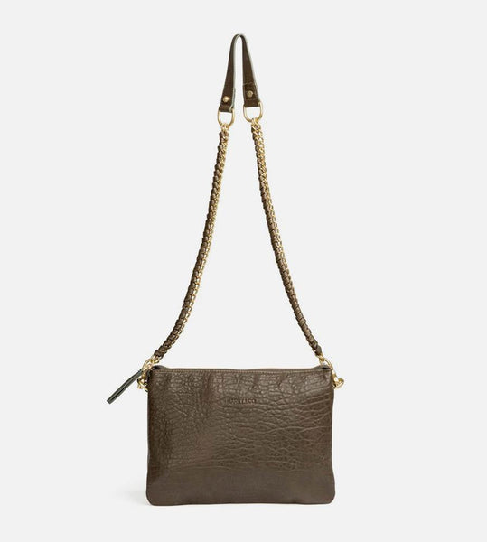 Harry & Co. | Everywhere Bag | Bubble Leather | Khaki