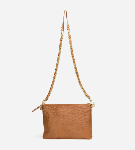 Harry & Co. | Everywhere Bag | Bubble Leather | Tan