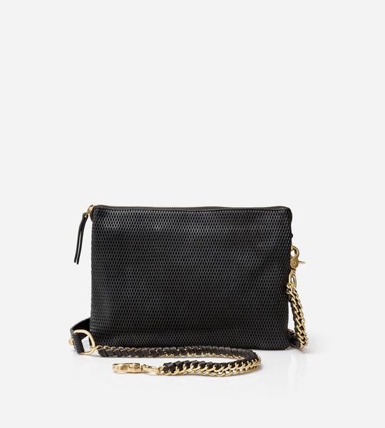 Harry & Co. | Everywhere Bag | Diamond Leather | Black
