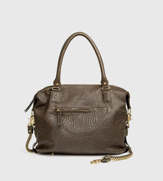 Harry & Co. | Jackie Bag | Bubble Leather | Khaki
