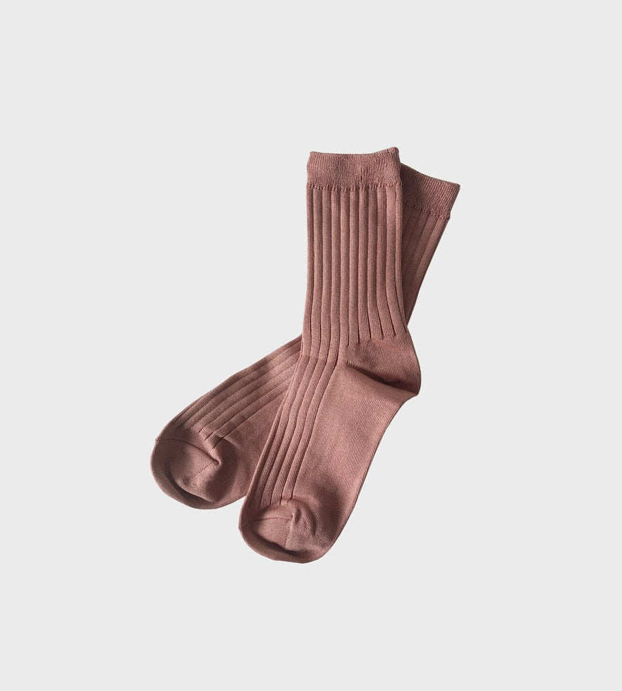 Le Bon Shoppe | Her Socks Cotton | Peach Nude