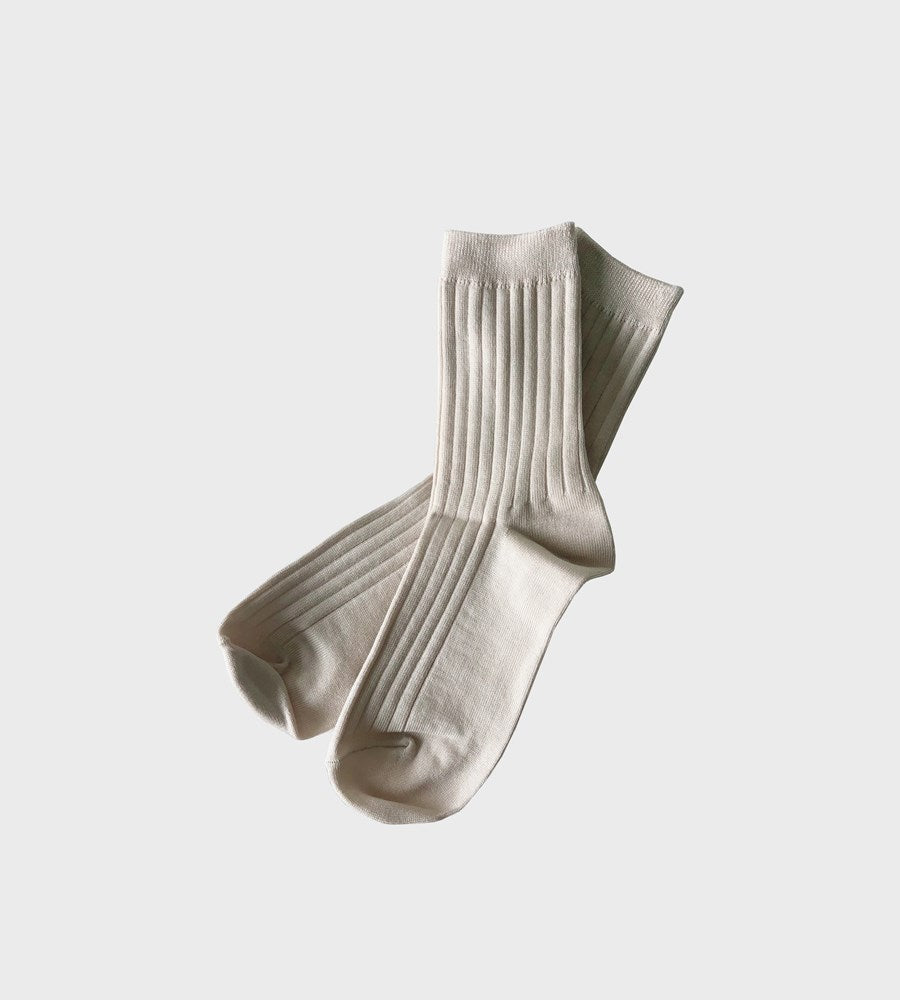 Le Bon Shoppe | Her Socks Cotton | Porcelain
