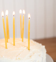 Hexton | Beeswax Birthday Candles | Pack of 10
