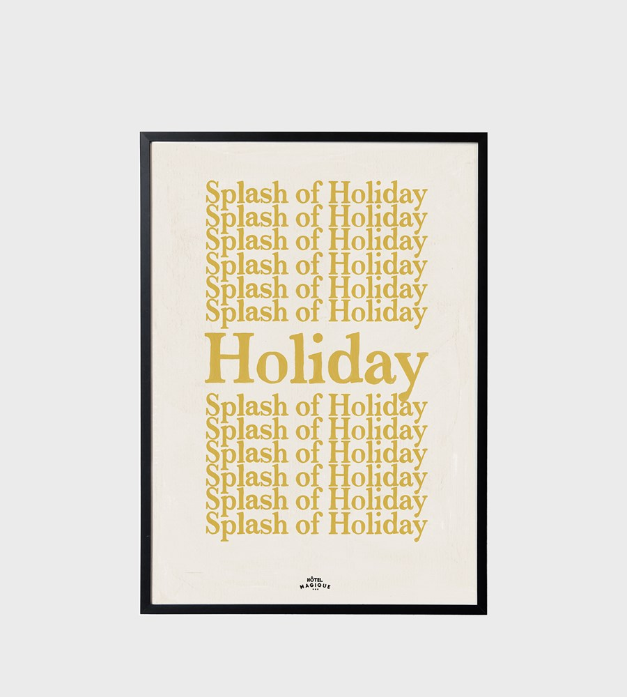 Hotel Magique | A Splash of Holiday Unframed Print | A3