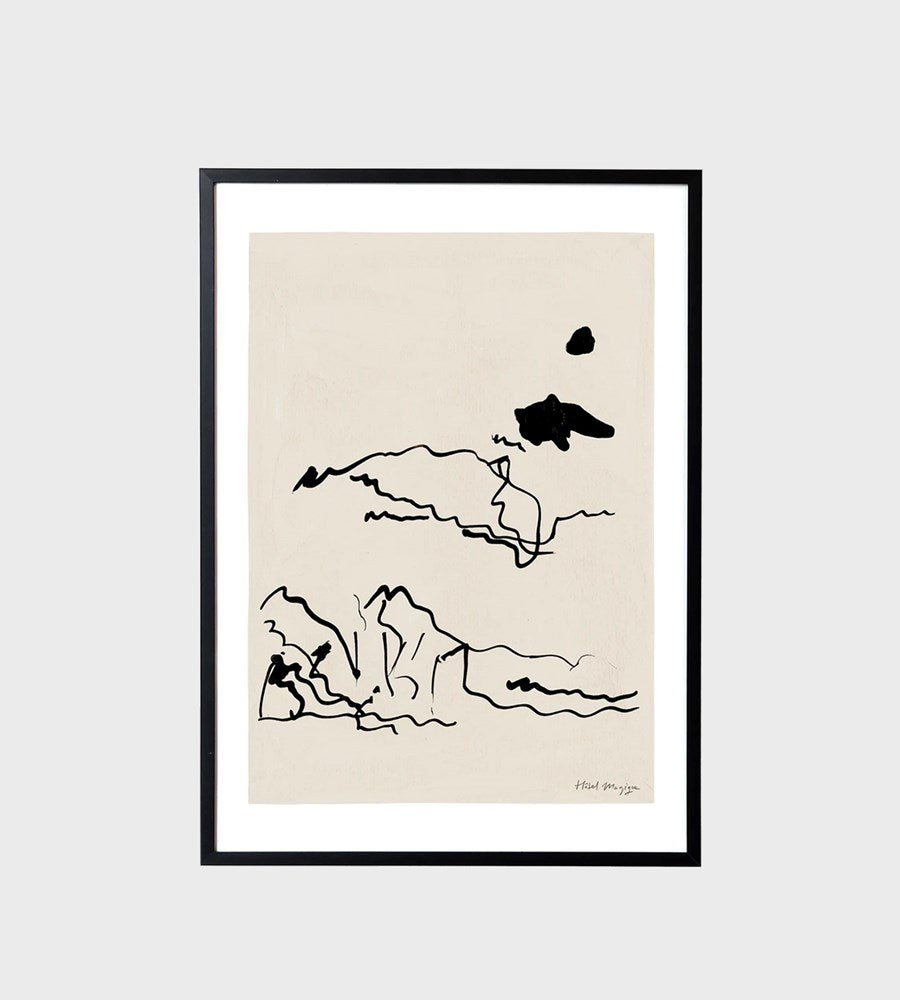 Hotel Magique | Sunbathers Unframed Print | A3