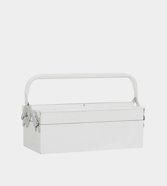 House Doctor | Steel Toolbox | White