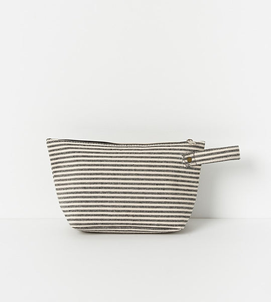 Isola Wash Bag | Stripe Canvas