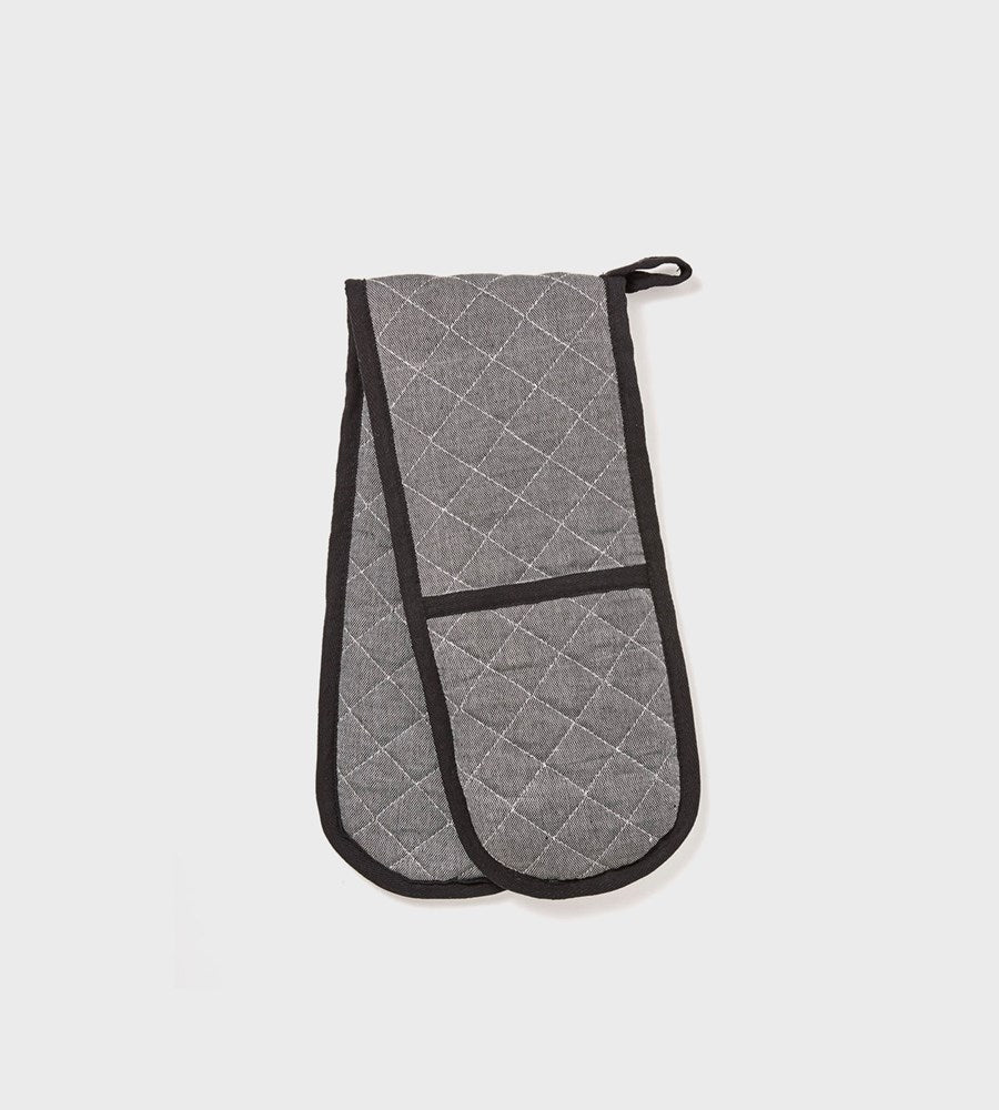 Izak | Cotton Oven Mitt | Grey