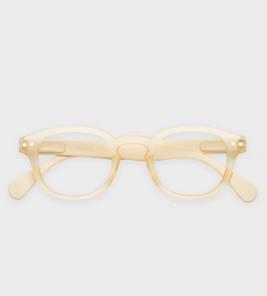 Izipizi Reading Glasses | #C Cool Heat | Neutral Beige