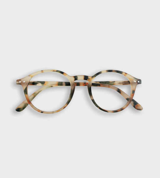 Izipizi Reading Glasses | # D | Light Tortoise