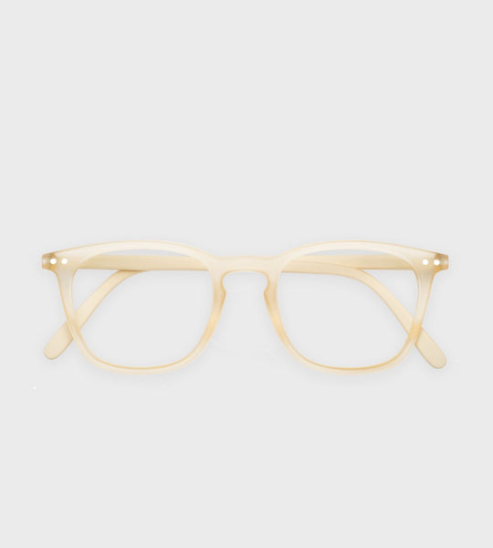 Izipizi Reading Glasses | #E Cool Heat | Neutral Beige