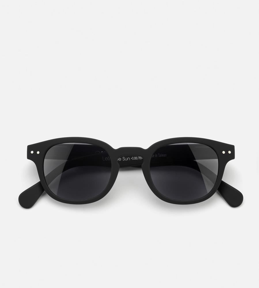 Izipizi Reading Sunglasses | # C | Black