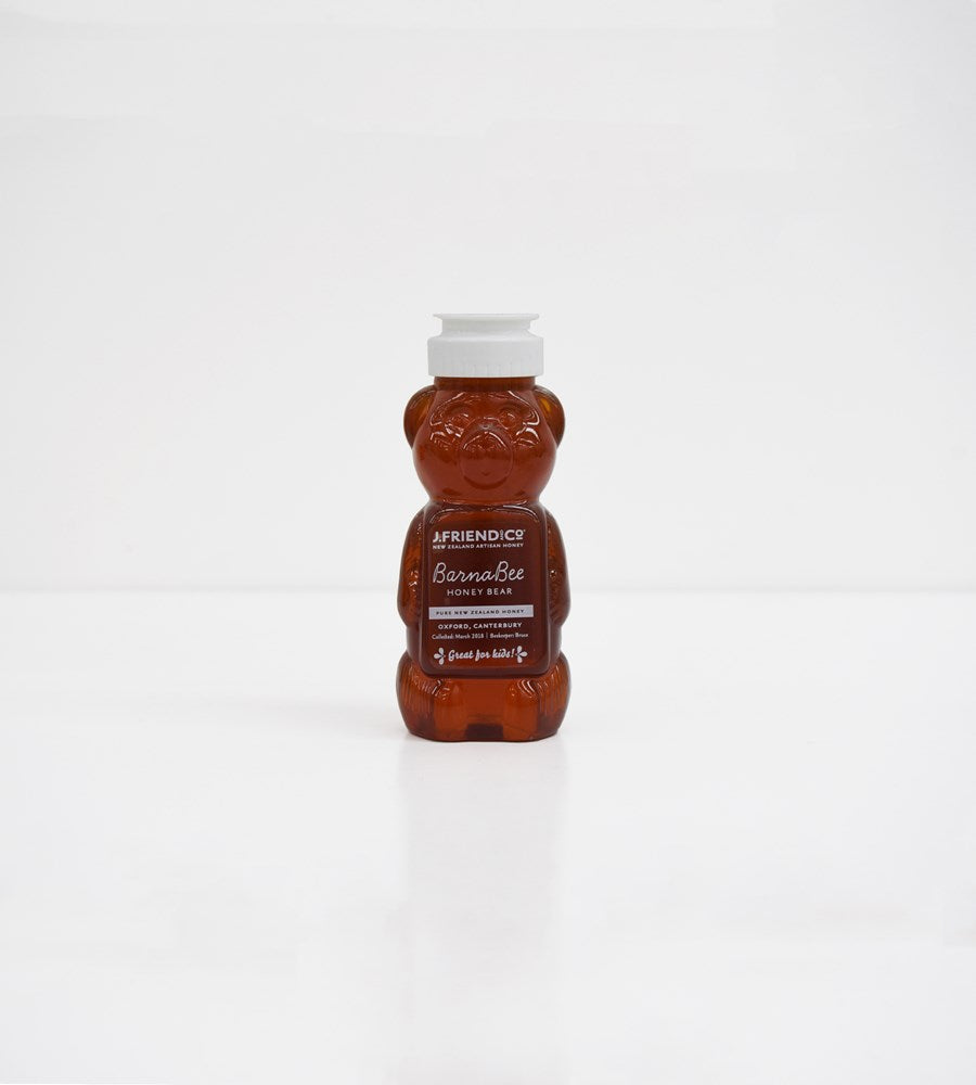 J. Friend & Co. | Barnabee Bear | Beechwood Honeydew Honey | 350g