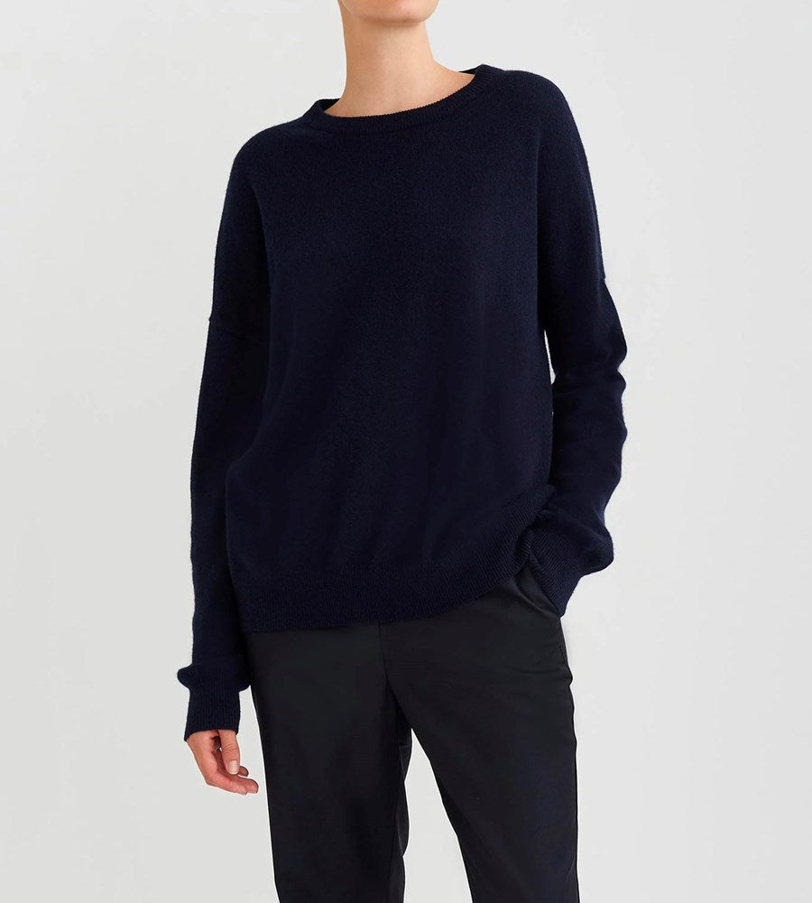 Jac+Jack | Cliff Sweater | Darkest Navy