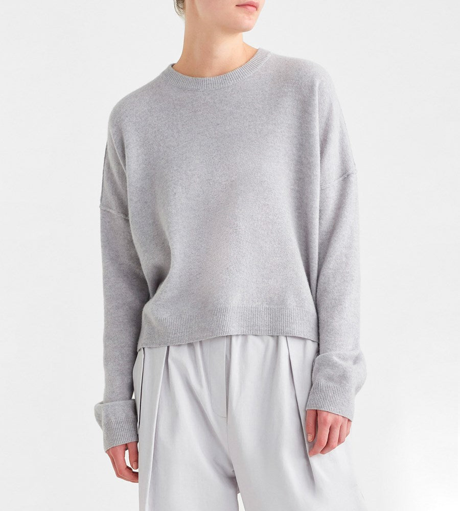Jac+Jack | Steely Sweater | Pale Grey Marle