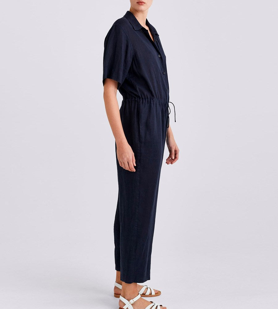 Jac+Jack | Ela Jumpsuit | Darkest Navy