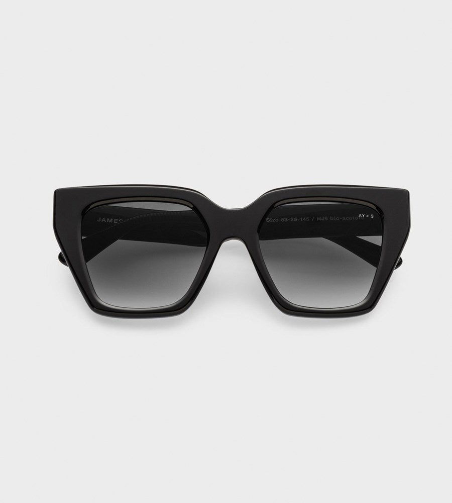 James Ay | Glance Sunglasses | Black