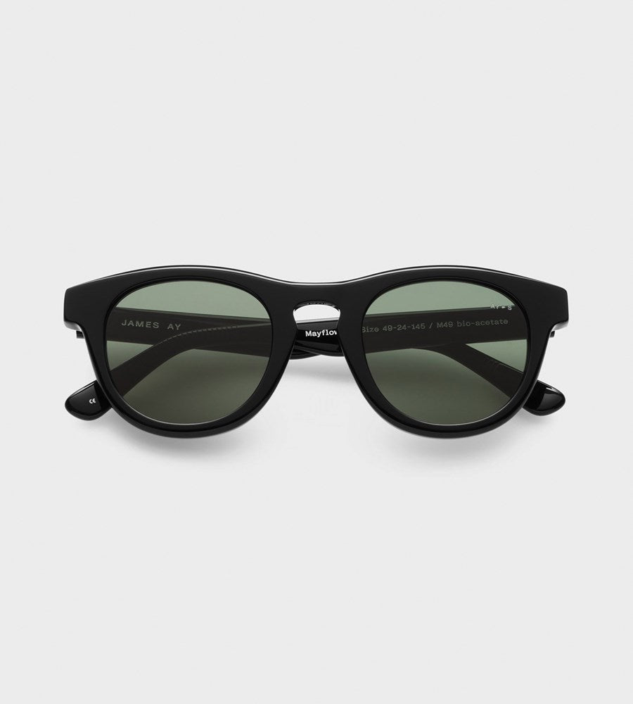 James Ay | Mayflower Sunglasses | Black