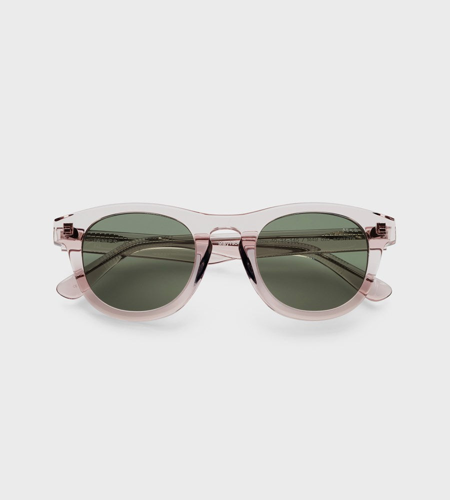 James Ay | Mayflower Sunglasses | Transparent Sand