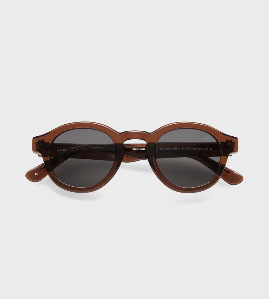 James Ay | Modish Sunglasses | Transparent Brown