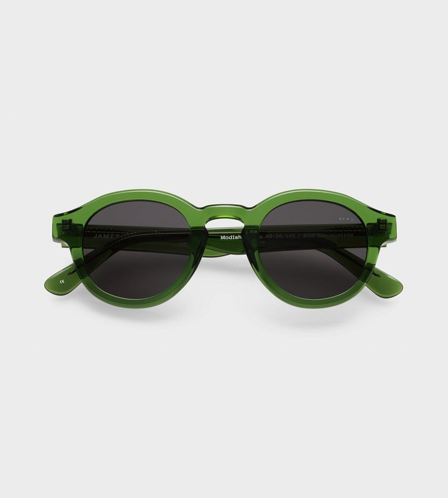 James Ay | Modish Sunglasses | Transparent Green