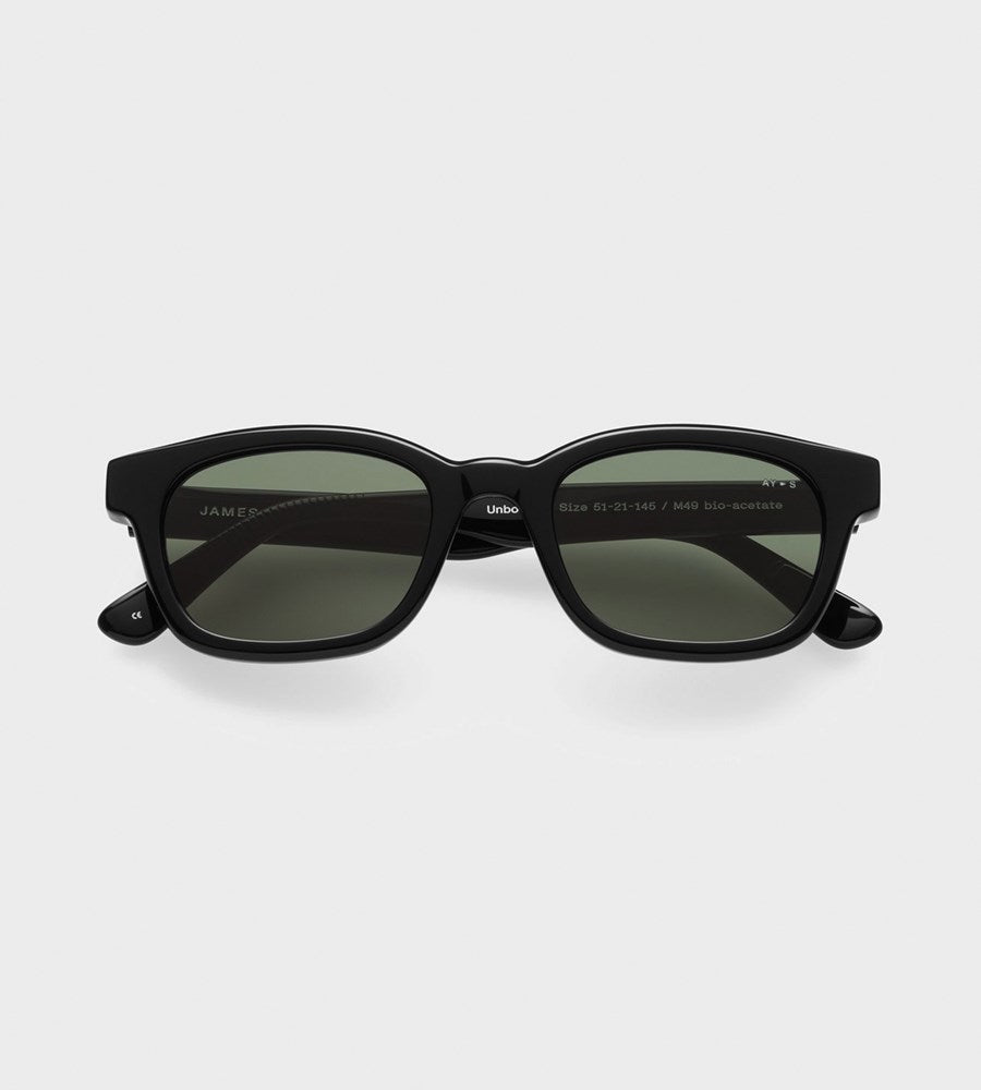 James Ay | Unbound Sunglasses | Black