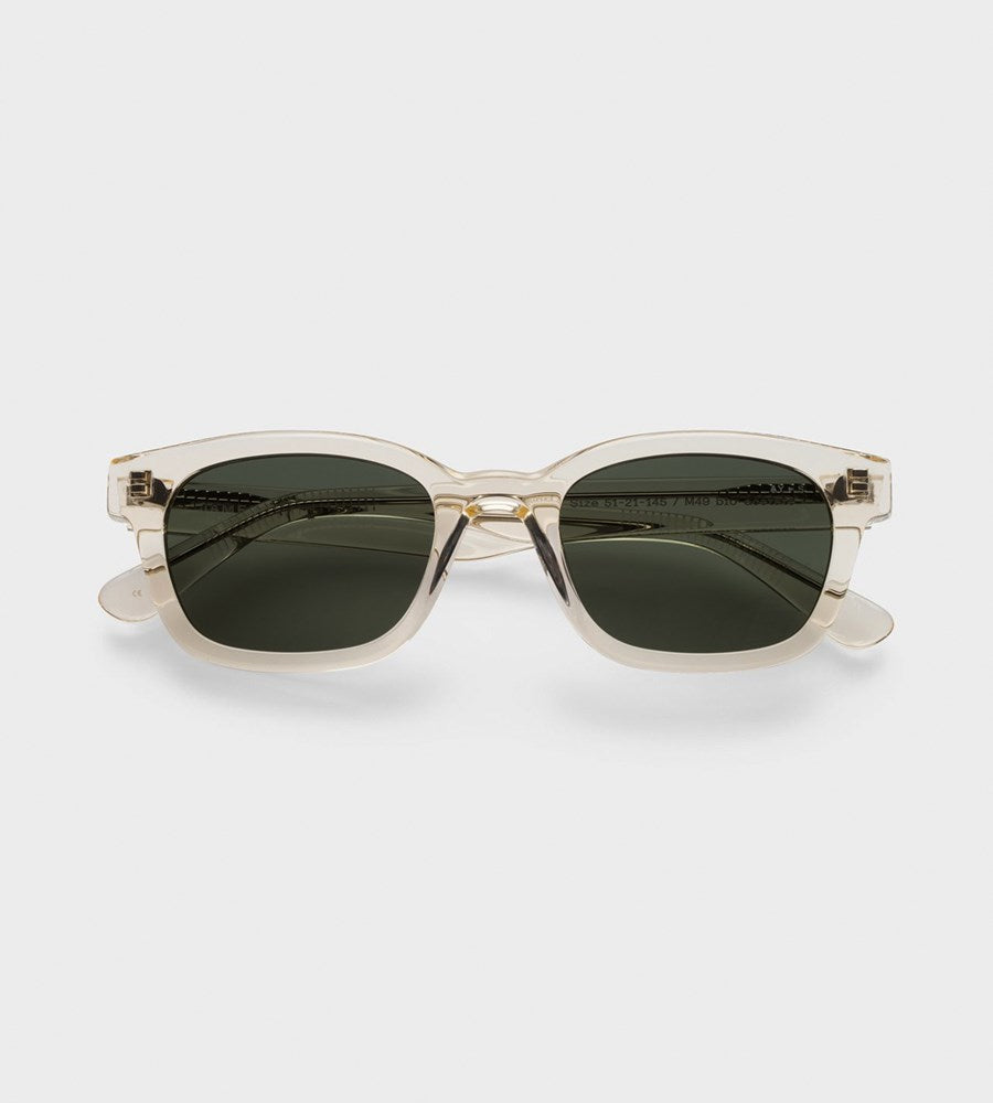 James Ay | Unbound Sunglasses | Transparent Yellow