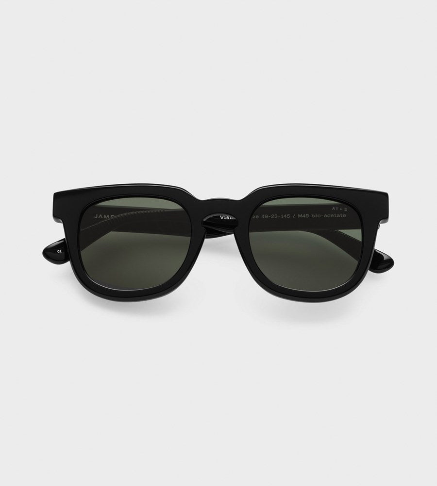James Ay | Vision Sunglasses | Black