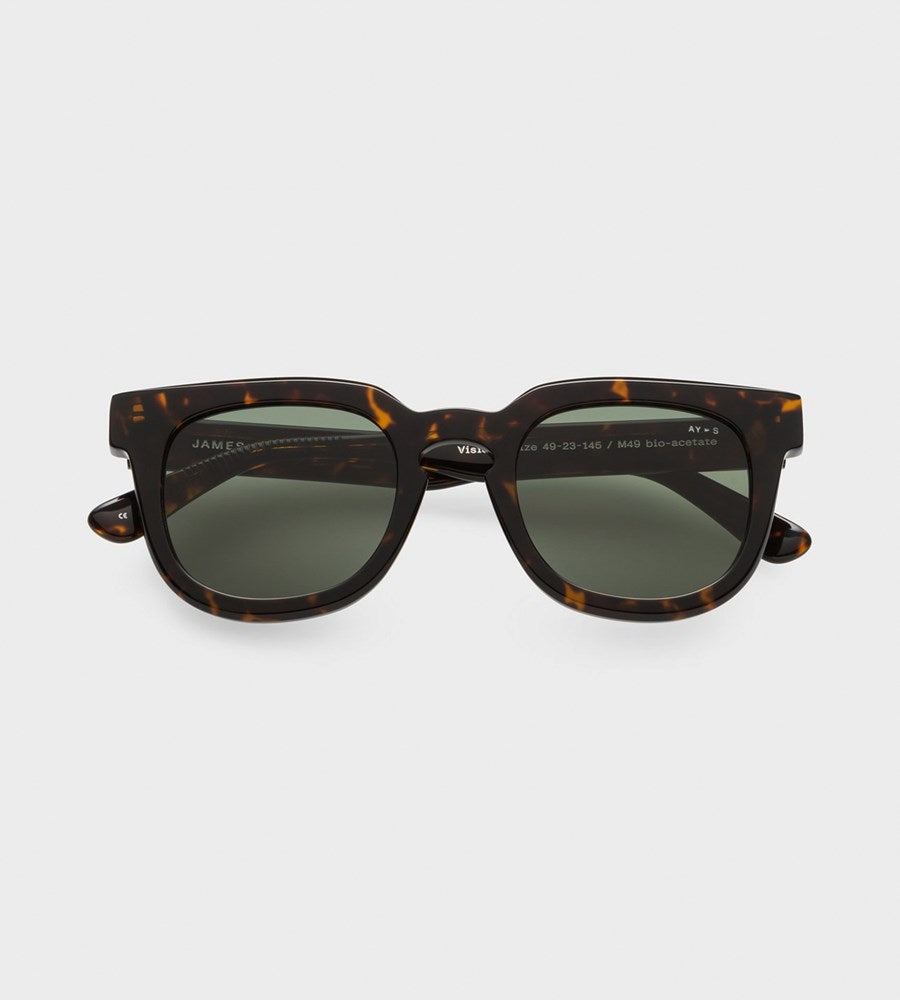 James Ay | Vision Sunglasses | Classical Havana