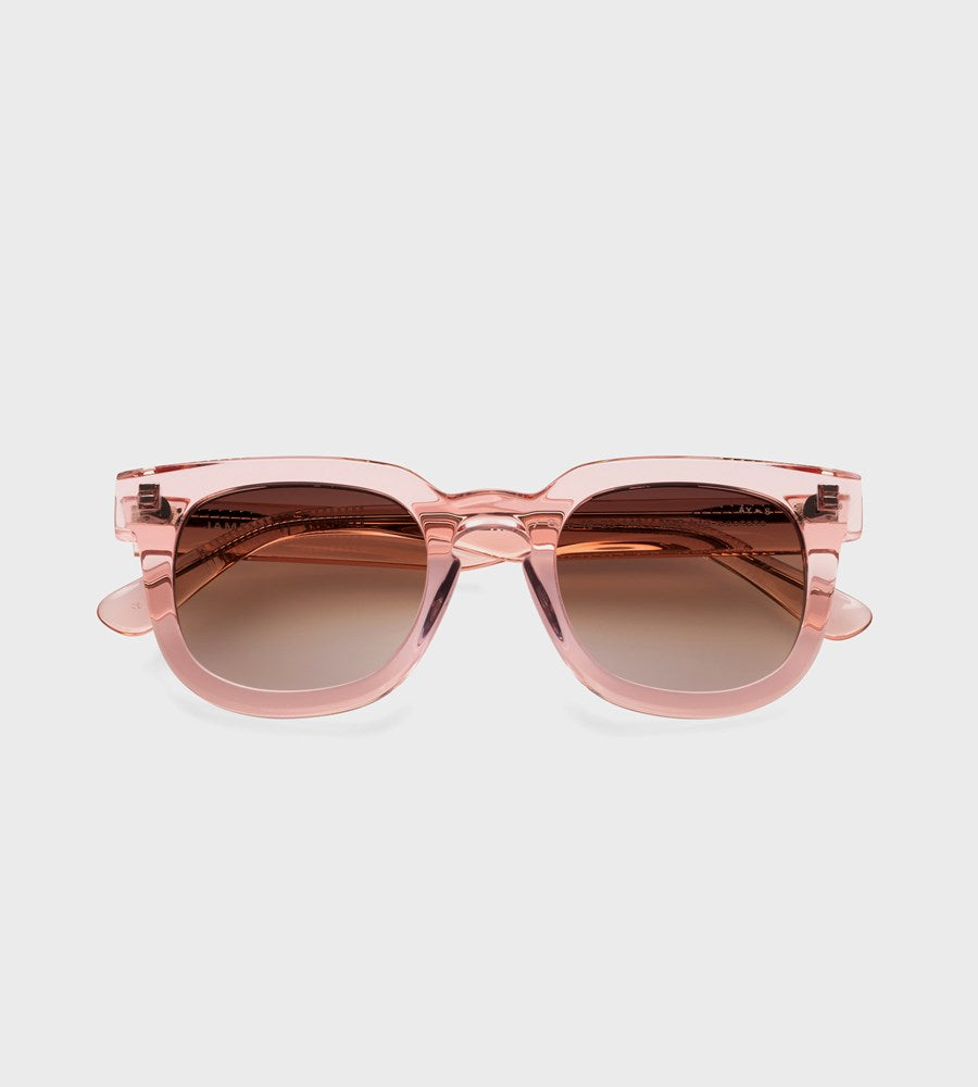 James Ay | Vision Sunglasses | Transparent Pink