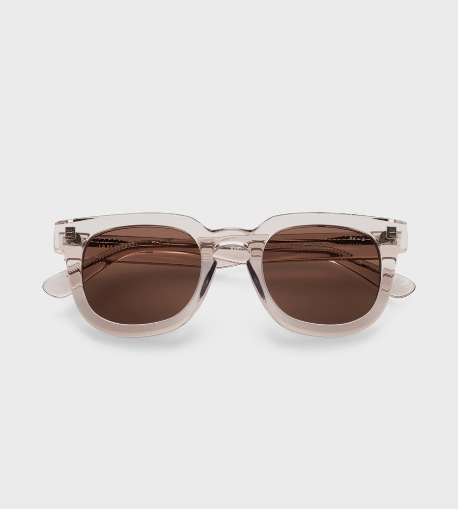 James Ay | Vision Sunglasses | Transparent Sand