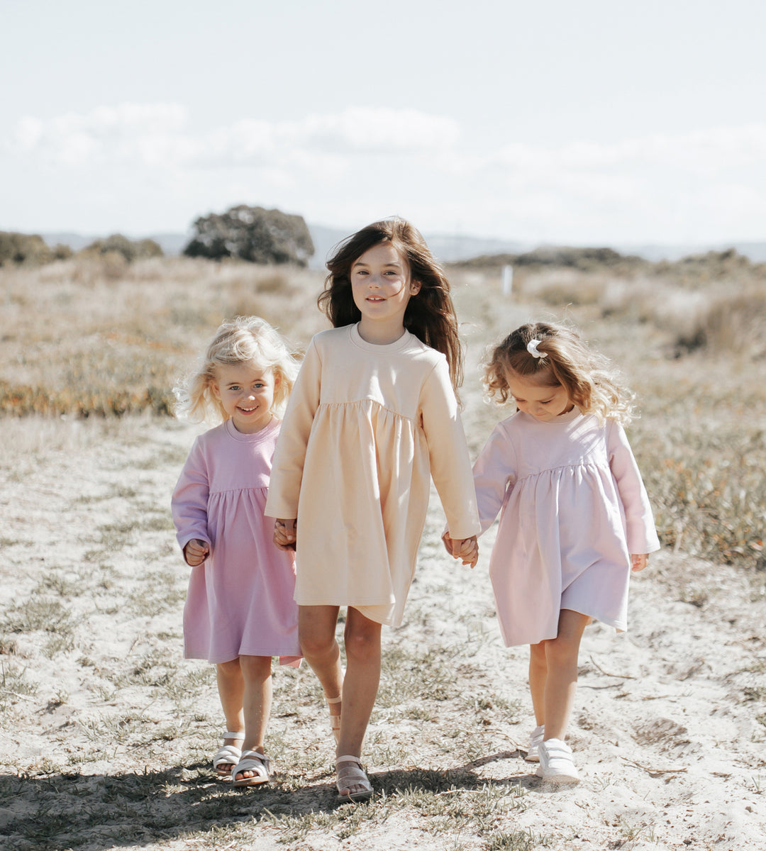 Jamie Kay | Charlotte Dress | Honey Peach
