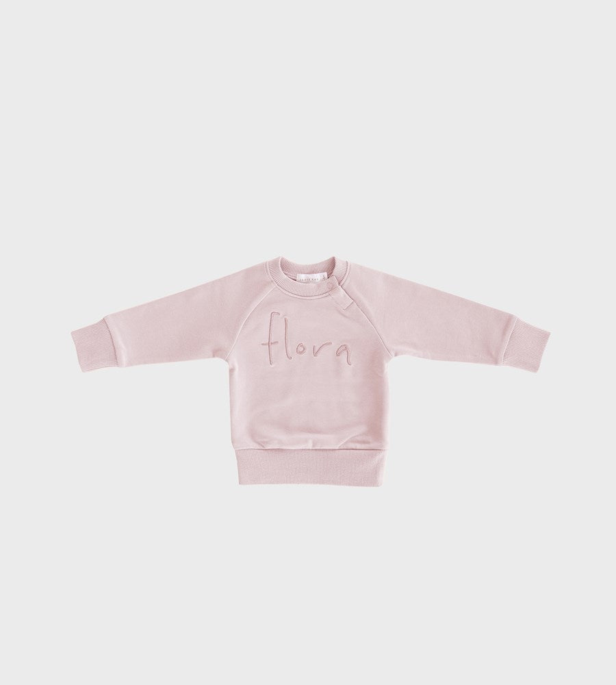 Jamie Kay | Flora Sweatshirt | Old Rose