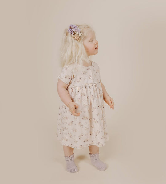 Jamie Kay | Short Sleeve Dress | Sweet Pea Floral