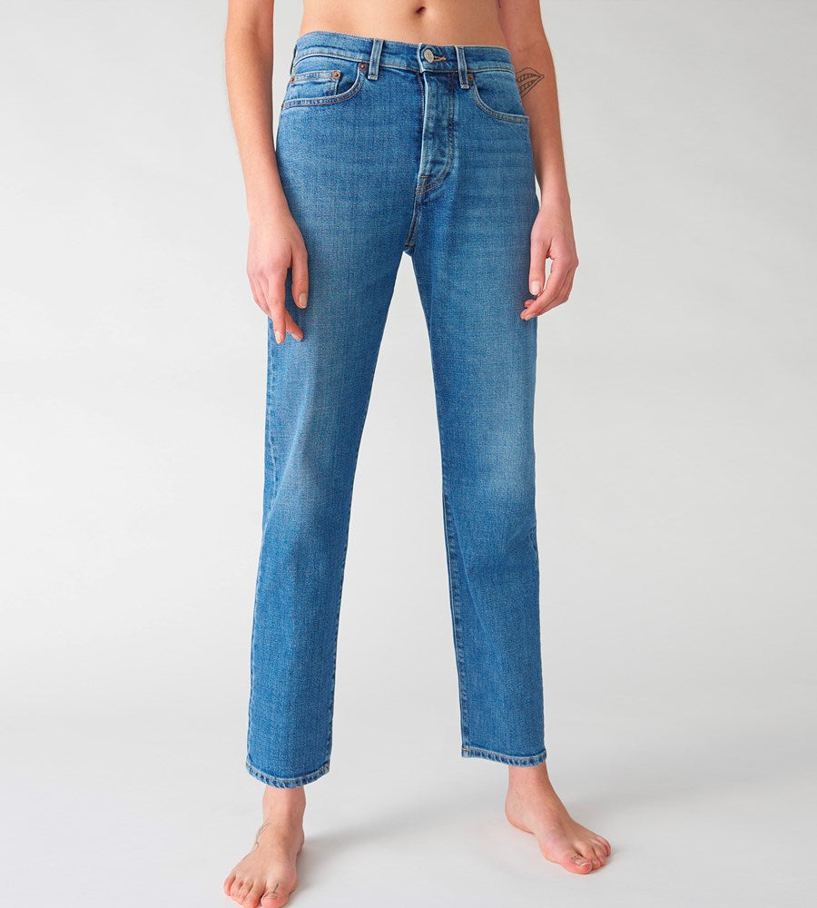 Jeanerica | Women's Classic 5-Pocket Jeans | Mid Vintage